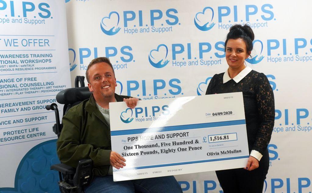 Olivia's 2.6 Challenge Raises £1,516.81