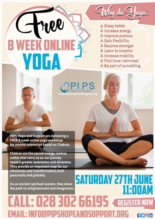 8 Week Online Yoga