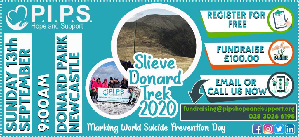 Take on Slieve Donard for World Suicide Prevention Day