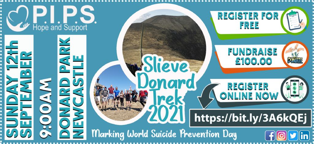Slieve Donard Hike for World Suicide Prevention Day 2021