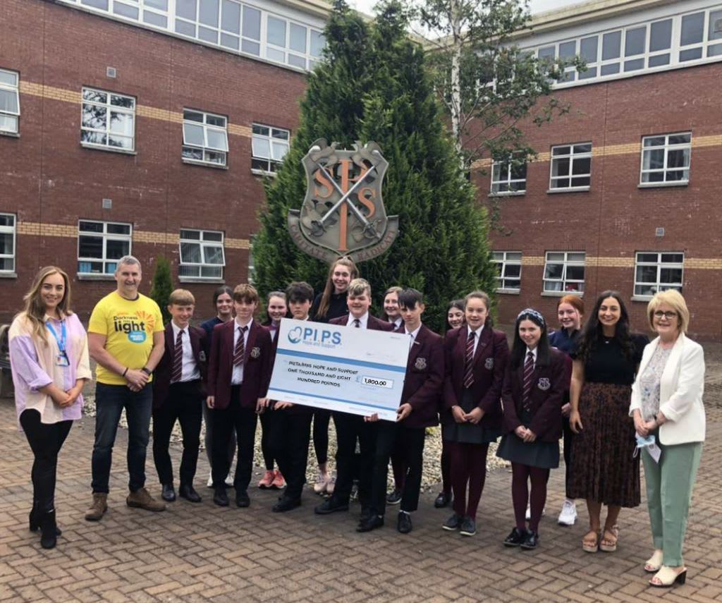 St Paul's High School Non-Uniform Day For Darkness Into Light