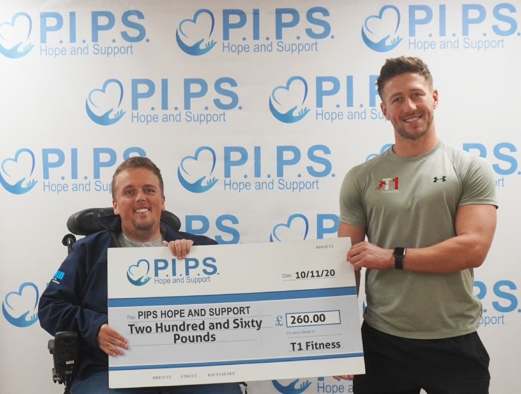 T1 Fitnesses Raffle for PIPS Hope and Support