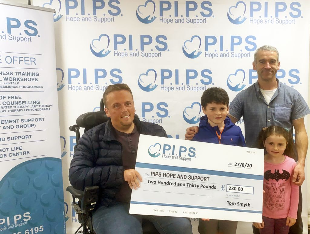 Tom's Afternoon of Music for PIPS Hope and Support
