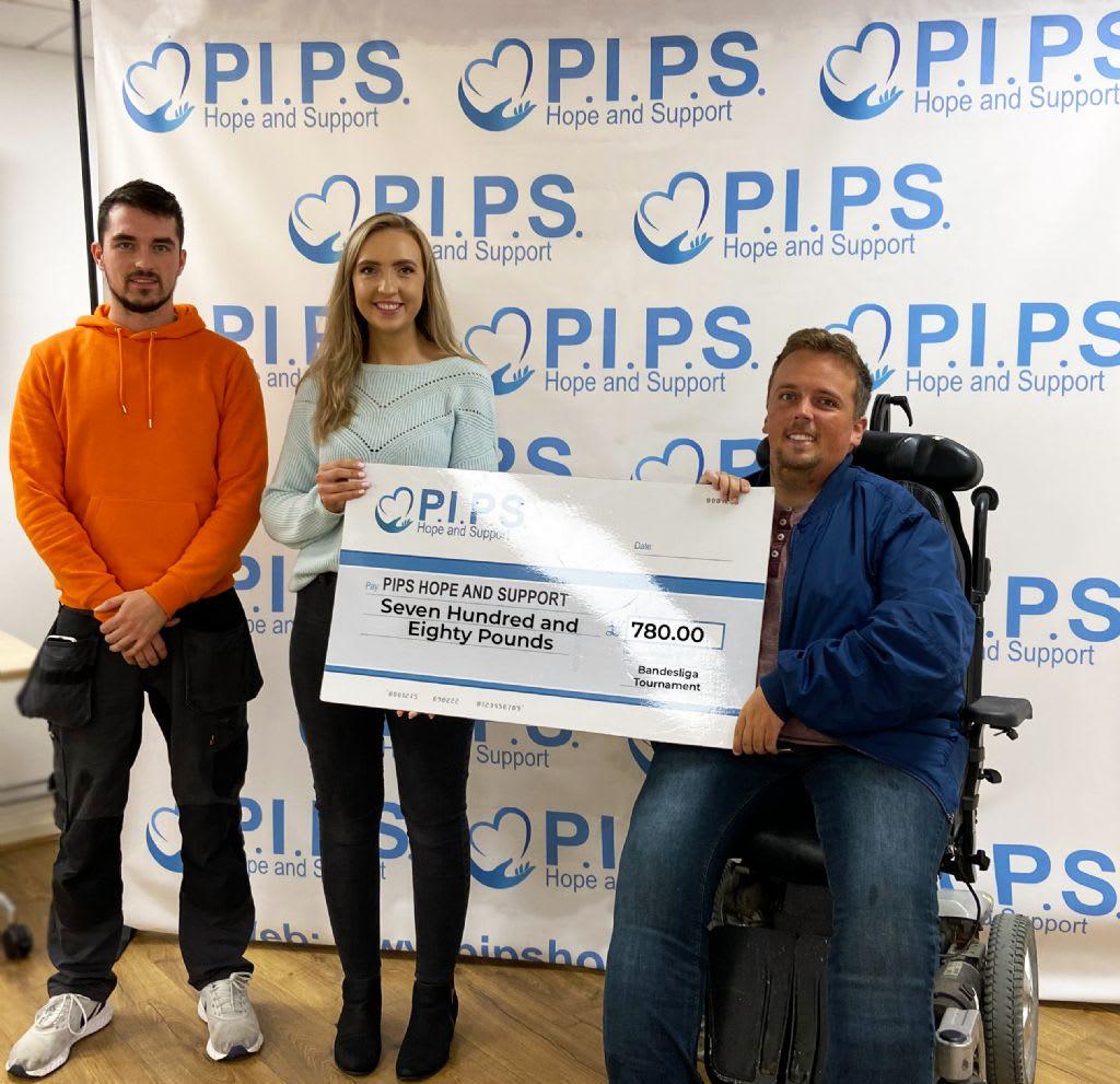 Bandesliga Football Tournament Donates Supports Local Charities