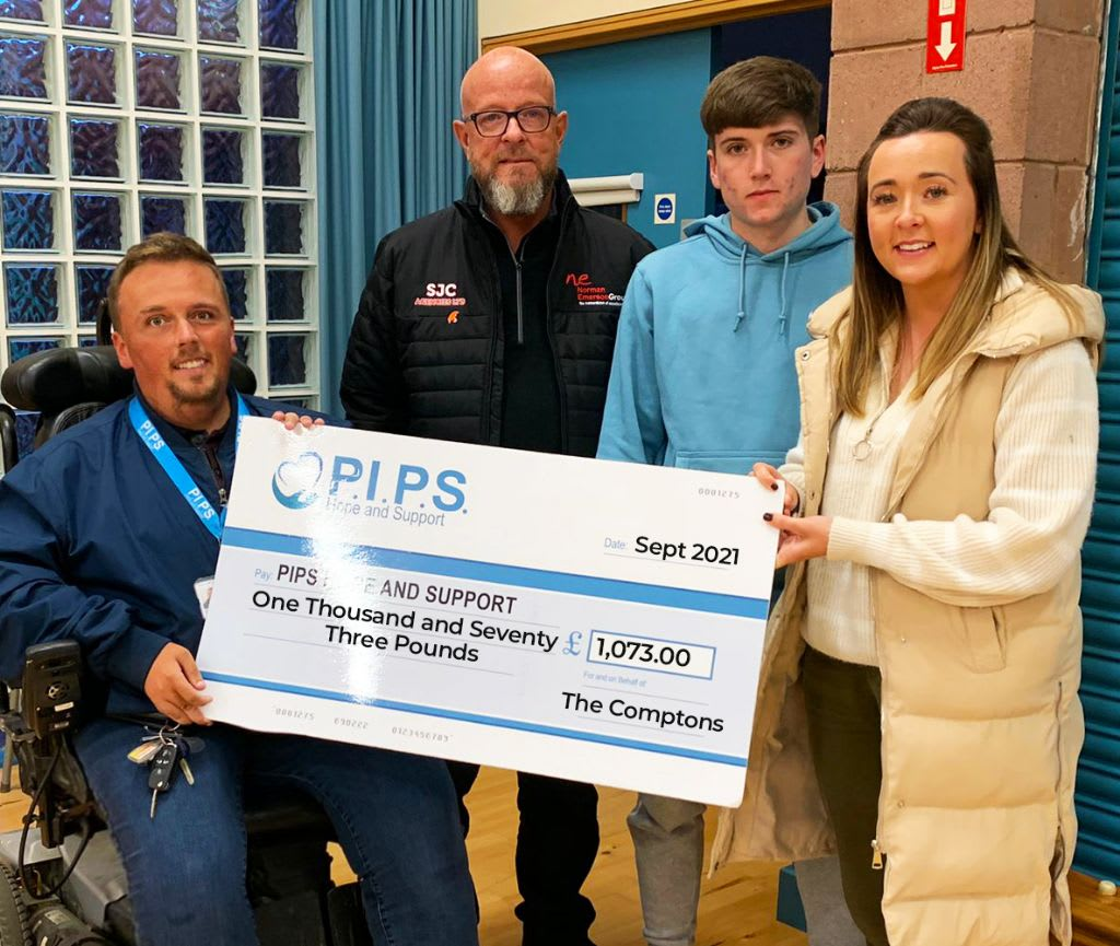 The Compton's Continued Support In Memory of Andrew