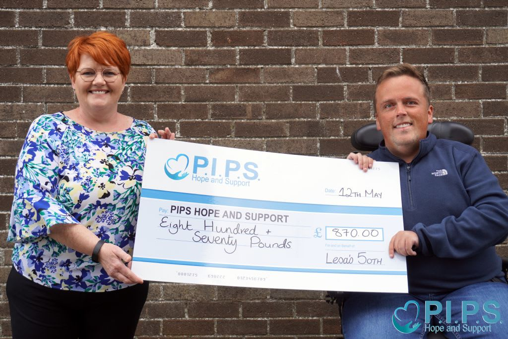 Lesa's 50th Donations for Suicide Prevention & Awareness