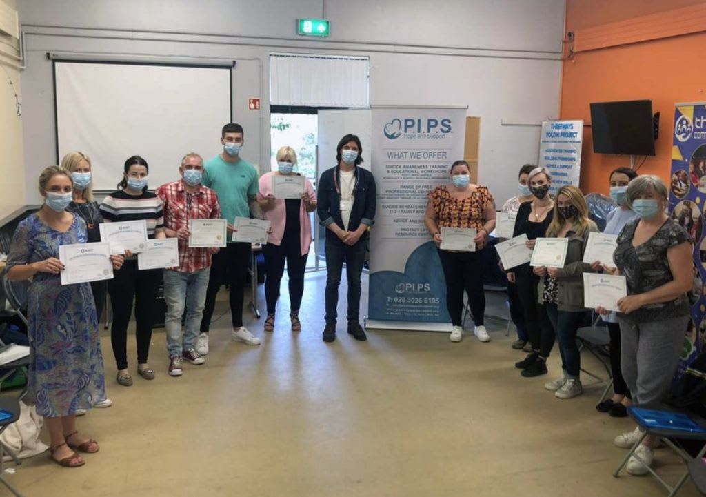 Newest Group of Individuals Completed ASIST Training