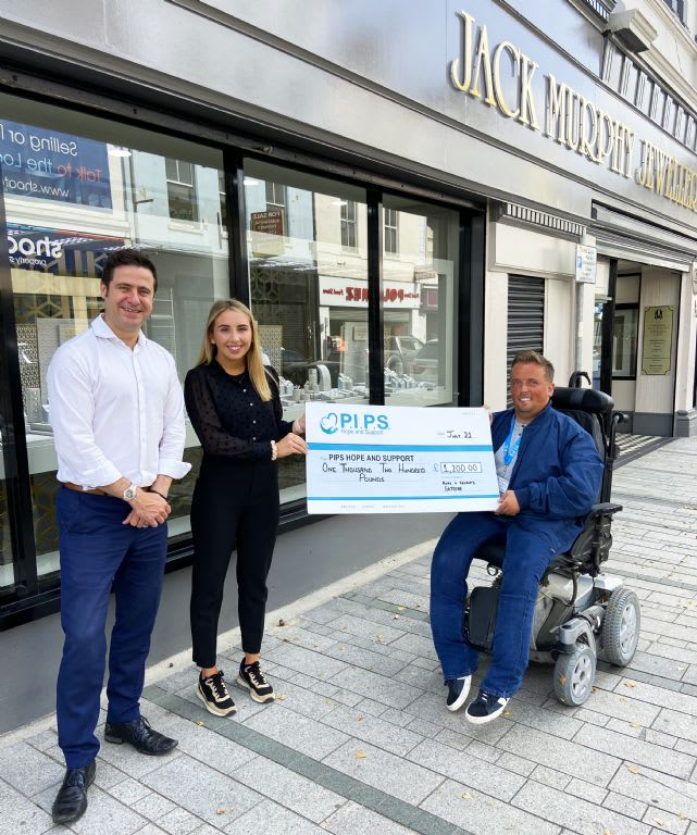 Jack Murphy Jewellers Staff's Skydive for PIPS Hope and Support