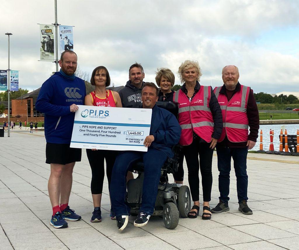 Craigavon City Park Friends Run Donation in Memory of Ian Kelly