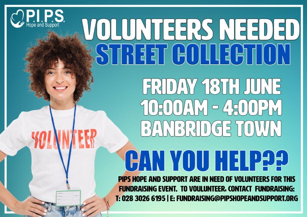 Banbridge Street Collection - Volunteers Needed