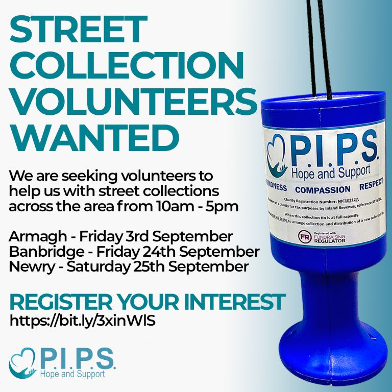 Street Collection Volunteers (Area Wide)