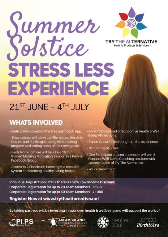 Summer Solstice - Stress Less Experience