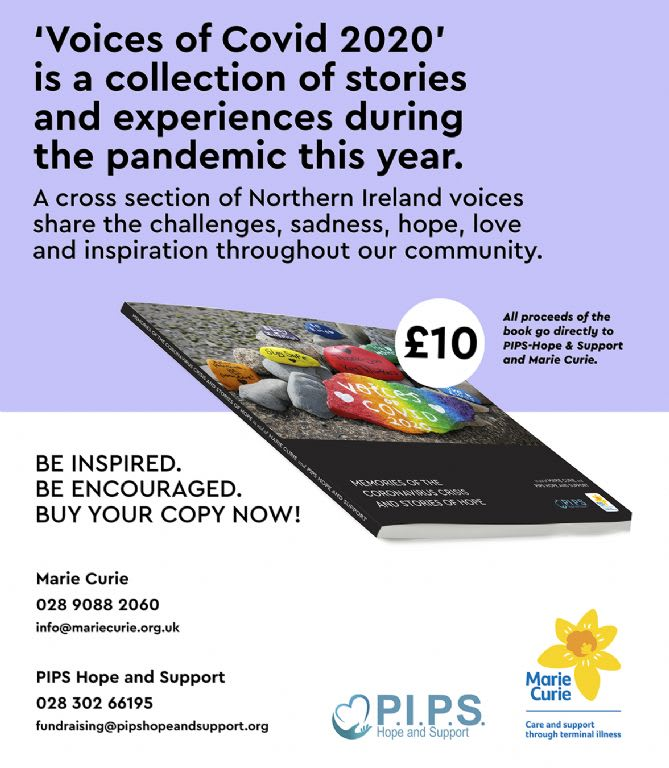 Voices of Covid 2020 - NOW ON SALE!!