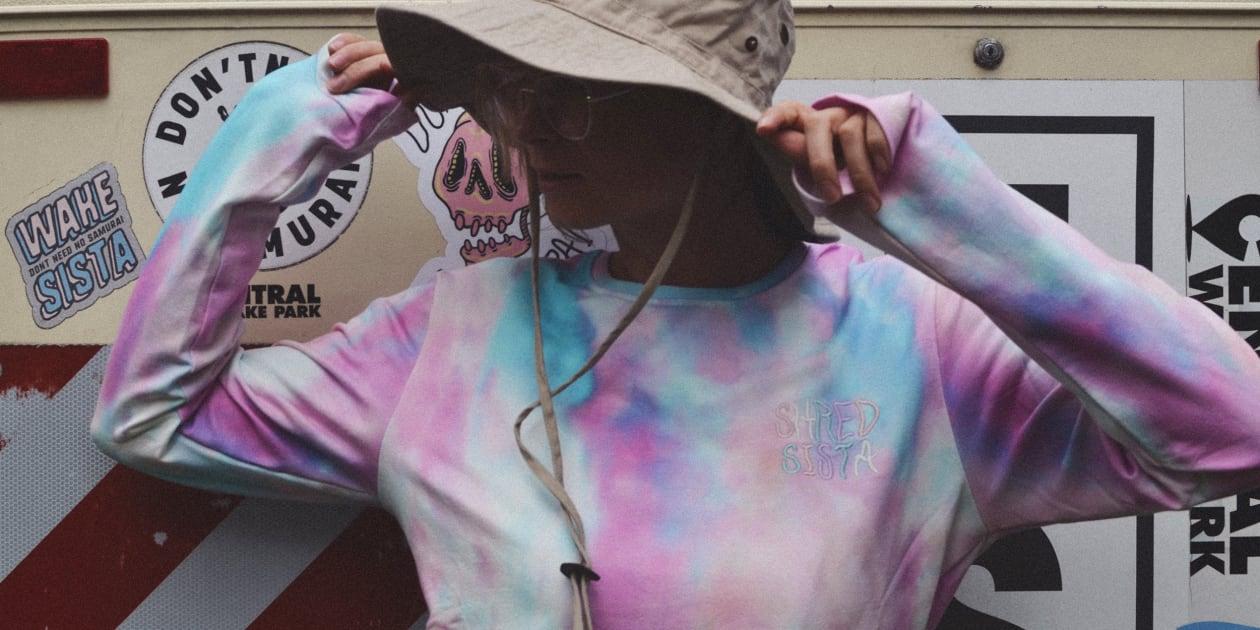 longsleeve tie dye