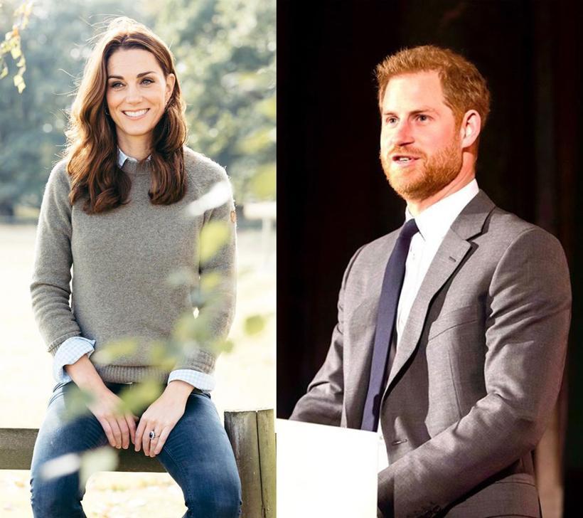 Кейт Миддлтон обиделась на принца Гарри за неуместный комментарий