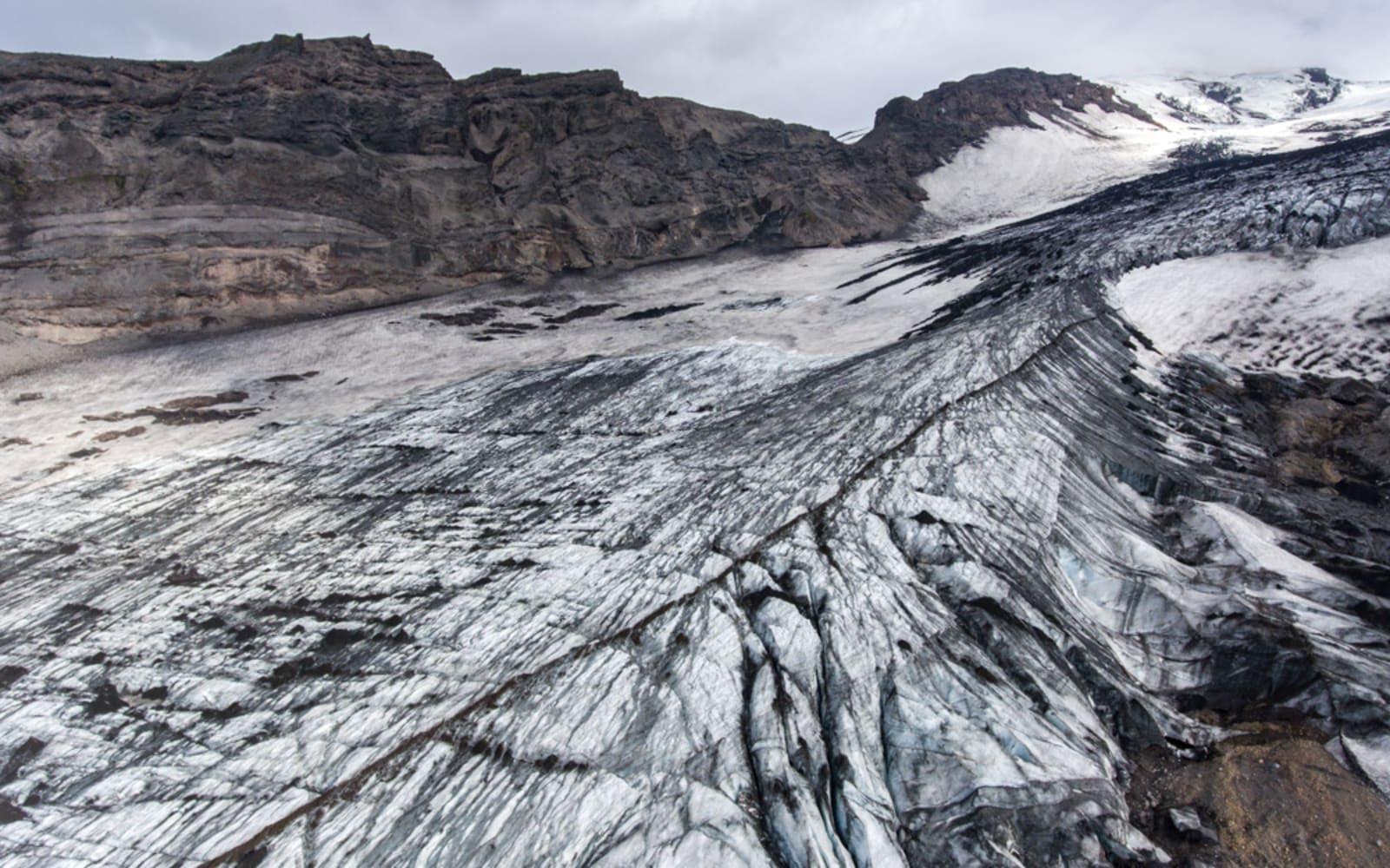 >Glacier in Iceland