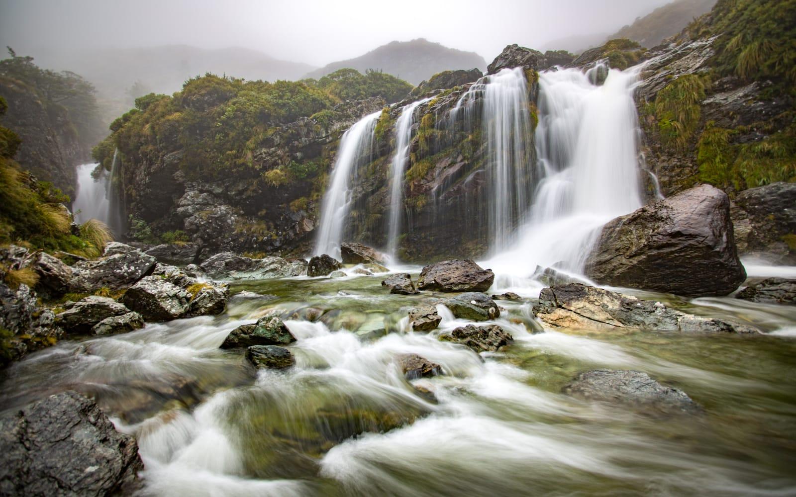 >Routeburn Falls