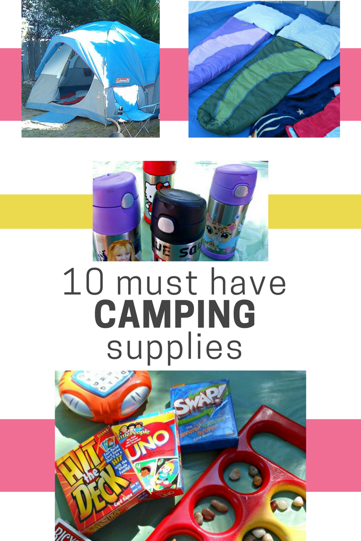 10 Must Have Camping Supplies