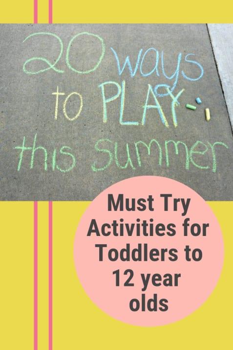 SummerActivitiesforKids
