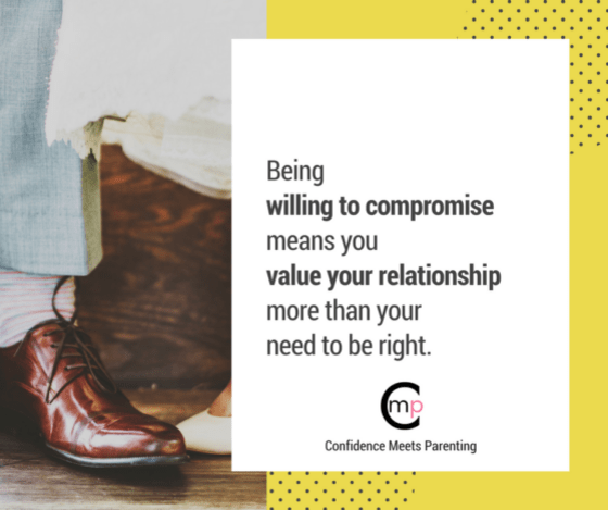 Quote: Being willing to compromise means you value your relationship more than your need to be right. Confidence in Marriage: How to Have a Happy Marriage