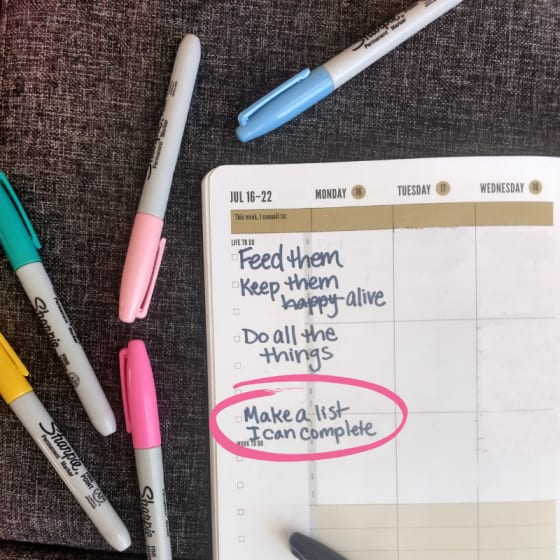 Moms have never-ending to lists. That can be overwhelming. These practical tips for time management for Moms are just what we need to take control!