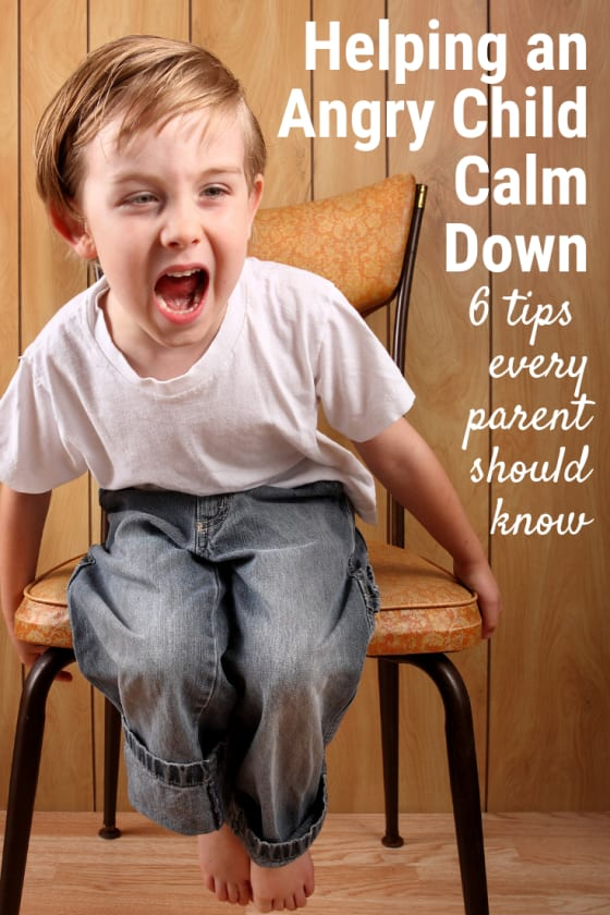 Anger can feel scary & overwhelming. Knowing how to help an angry child calm down is the first step in anger management for children. You got this!