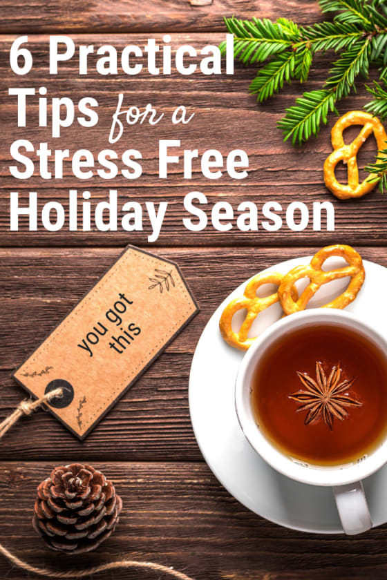 This is my favorite time of year. I've made myself a holiday plan using these holiday stress relief tips. I will meet the holidays with joy & peace.