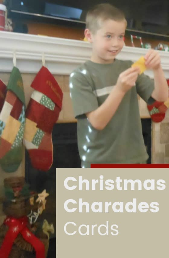 This Christmas charades for kids game is perfect to take a tiny break from the holiday crazy... and spend some quality time with your family. Simply print Christmas Charades Cards and you're ready for fun!