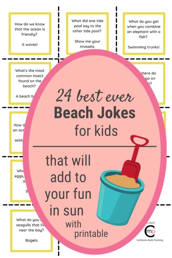 24 Beach Jokes for Kids