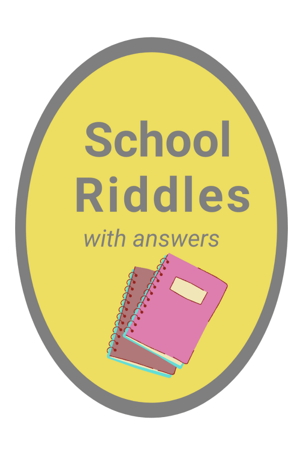 12 Printable Riddles about School with Answers