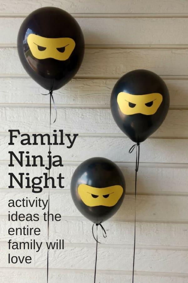 family ninja night