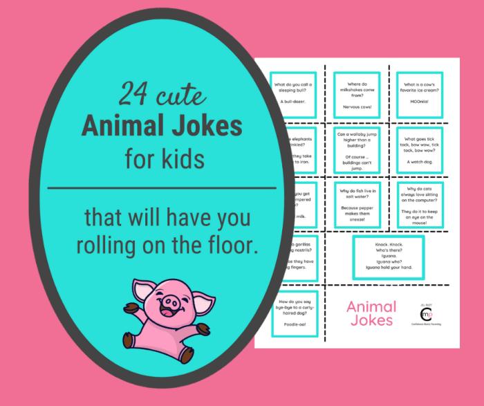 24 Animal Jokes for Kids