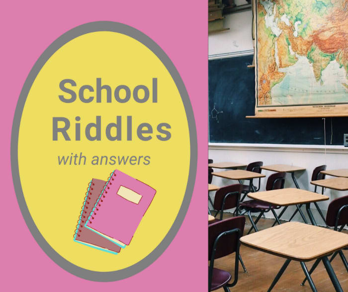 12 Printable Funny Riddles about School with Answers