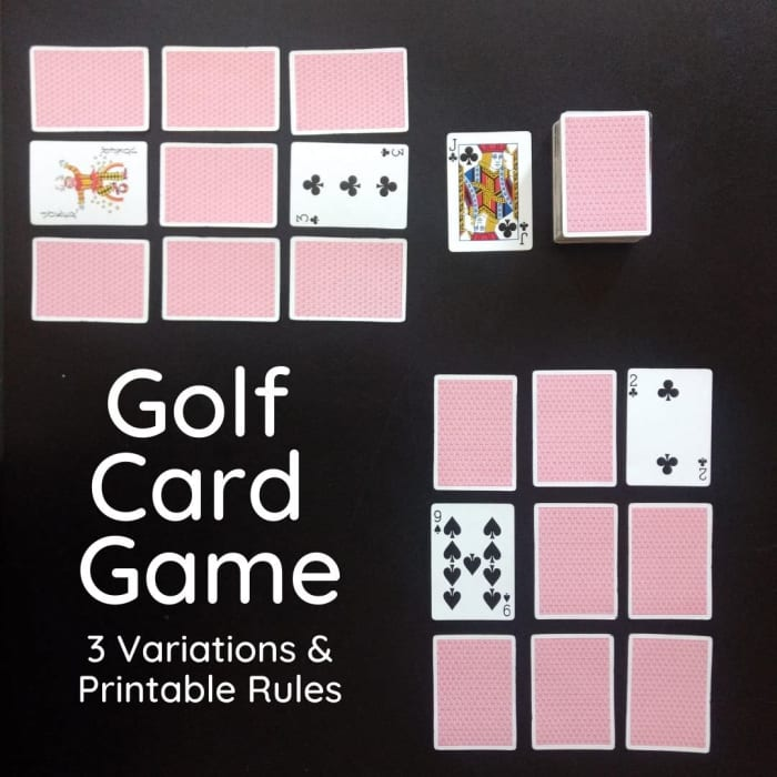 rules for golf card game