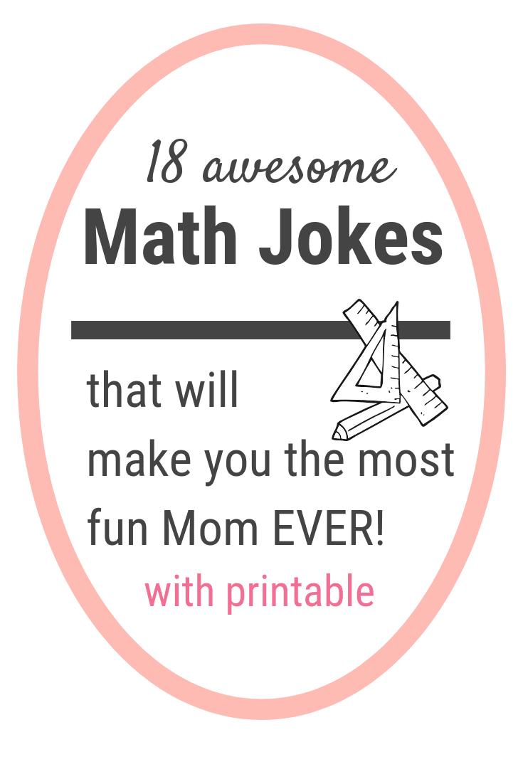 18 really funny math jokes for kids