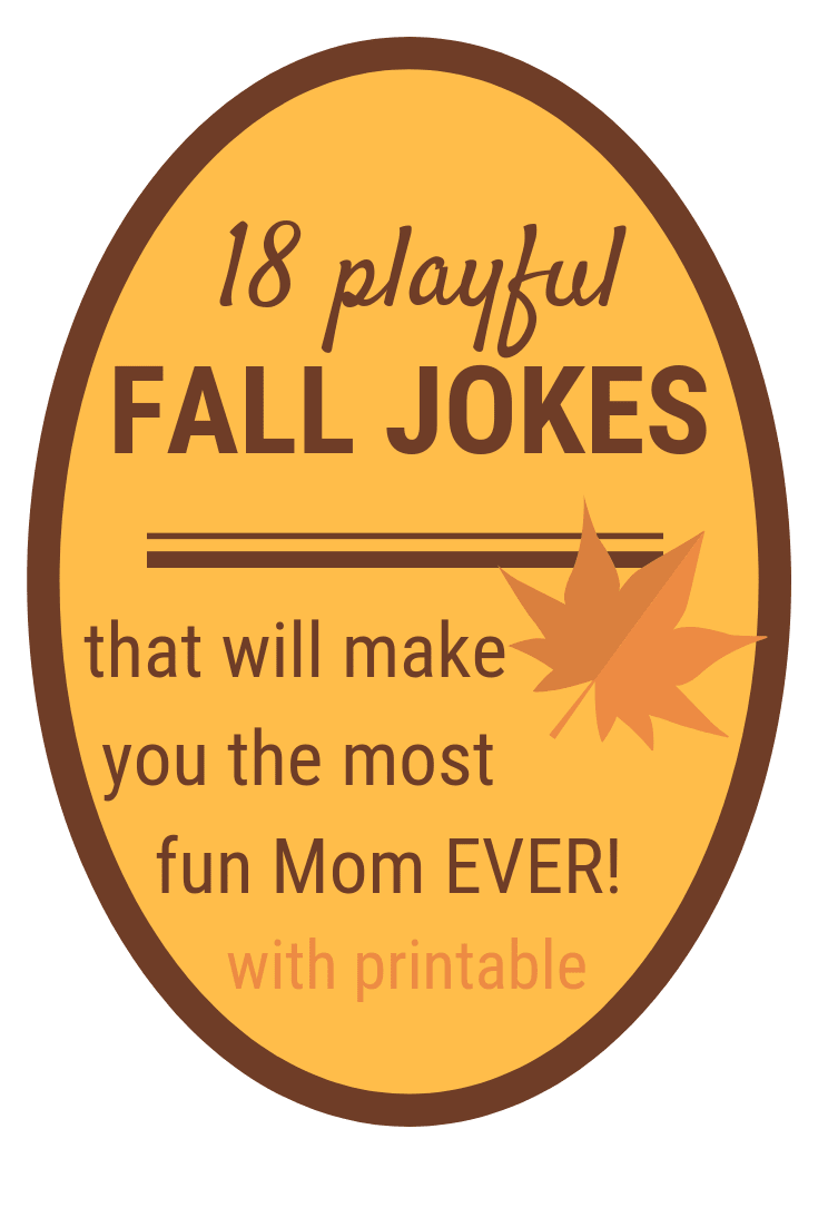 Fall Jokes for Kids   18 Fun & PRINTABLE Fall Jokes
