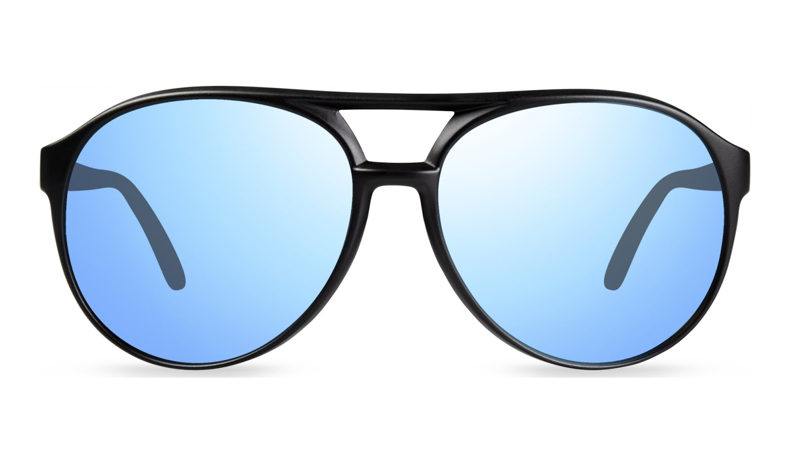 Revo Marx Polarized Sunglasses Black//Blue Water One Size