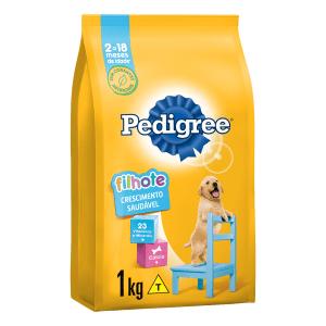 Alimento para Cães Filhotes Raças Médias e Grandes Pedigree Pacote 1kg