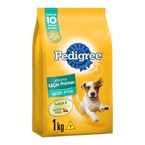 Alimento para Cães Adultos Raças Pequenas Pedigree Pacote 1kg