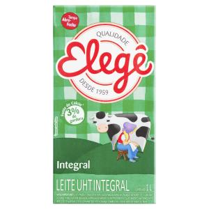Leite UHT Integral Elegê Caixa 1l
