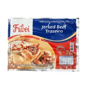 Bovino Carne Seca Traseiro Jerked Beef Sache 500g