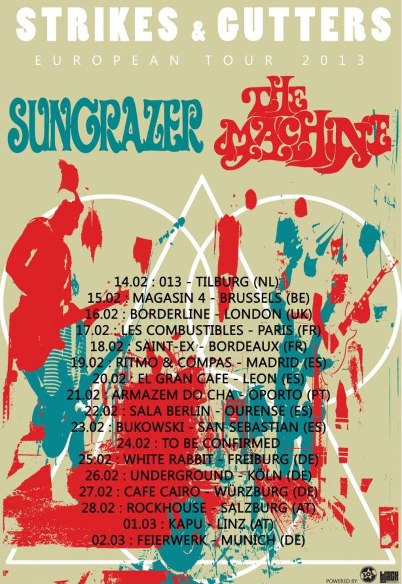 Sungrazer + The Machine