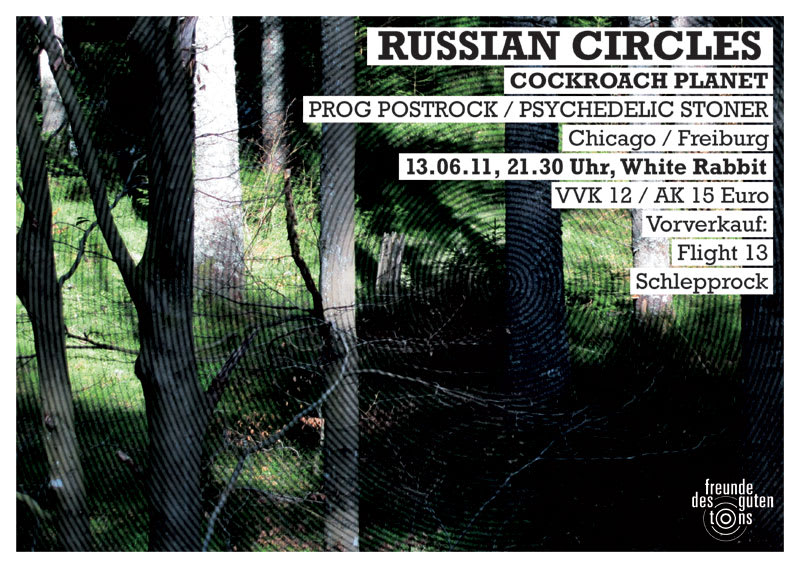 Russian Circles + Cockroach Planet