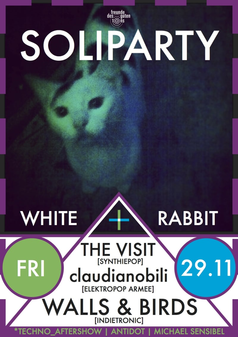 [Soliparty] The Visit + Claudianobili + Walls & Birds
