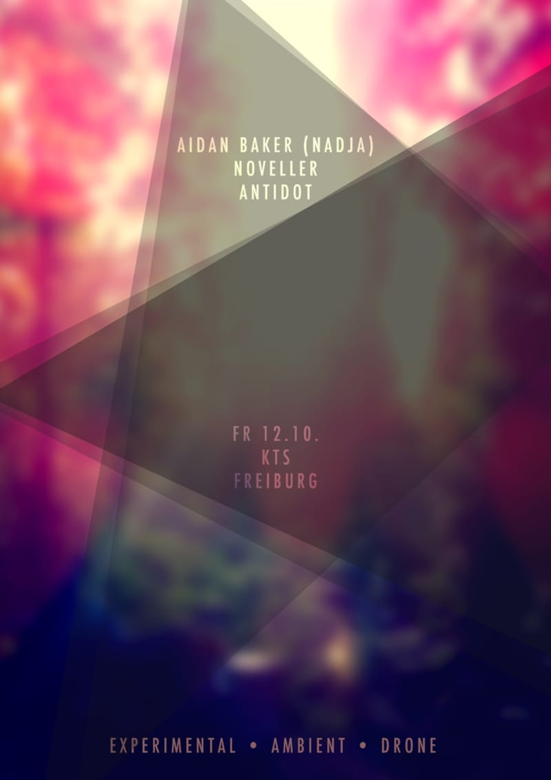 Aidan Baker + Noveller + Antidot
