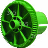 Sharp Imaging Film Gear Flange (Green Gear)