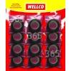 Ruban Adhésif PVC (12 Sachets Individuels) Wellco