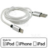 Apple Cable Plateado - 1.0 Metros