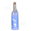 The Christmas Workshop 4 LED Sternenlicht-Flaschen