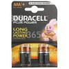 Pilas AAA (Pack De 4) Duracell